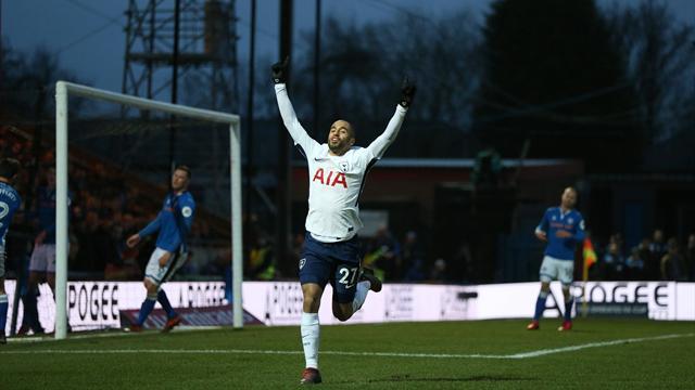 Malgré un but de Lucas, Tottenham devra rejouer contre un club de D3