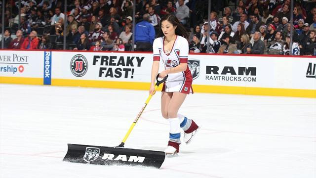 """Eiskunstlauf-Star mit """"coolem"""" Zweitjob in der NHL"""