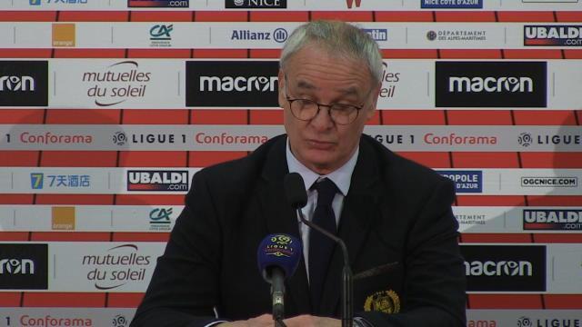 """26e j. - Ranieri : """"Un bon nul pour nous... et pour Nice"""""""