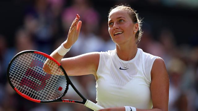 Kvitova beats Muguruza in Qatar final to get back into top 10