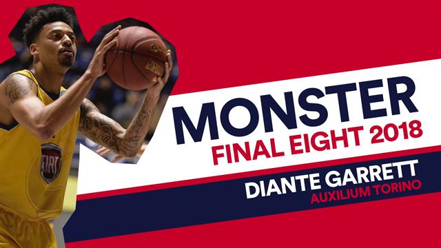 Monster Weekend: Diante Garrett top scorer nella finale vinta da Torino
