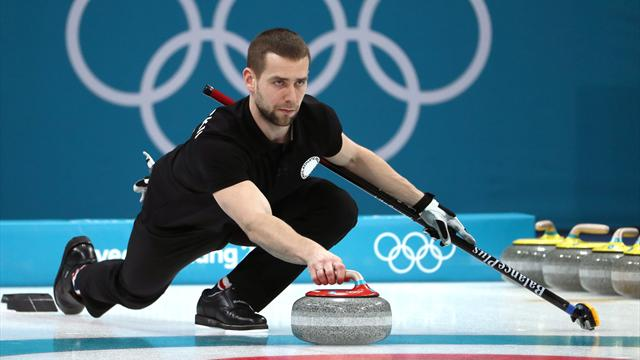 Russian curling medallist leaves Games on suspicion of doping