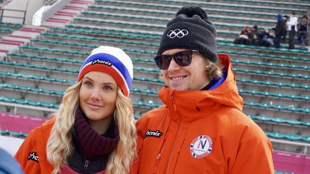 Så kjæresten kjøre for første gang: – Ikke alle som får deltatt i OL sammen