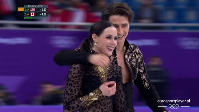 Canadian ice dance pair break own world record to lead standings