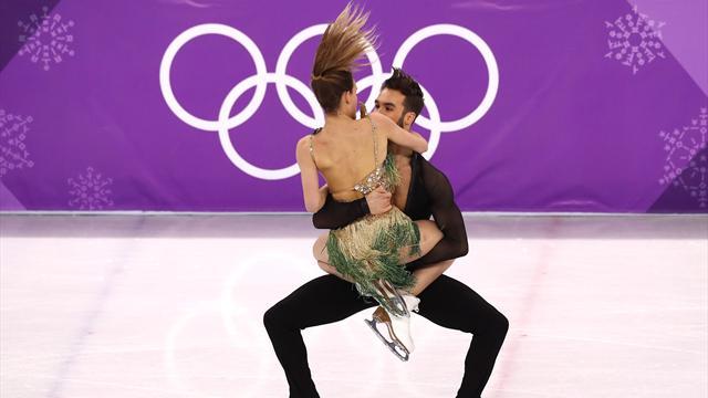 Уфранцузской фигуристки обнажилась грудь вовремя выступления наОлимпиаде