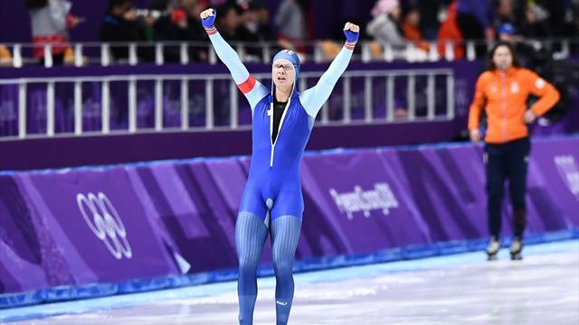 Lorentzen s'offre l'or sur 500m et un record olympique