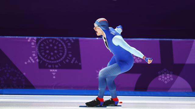 Lorentzen, oro e record olimpico nei 500 metri: beffato Min Kyu Cha per un centesimo