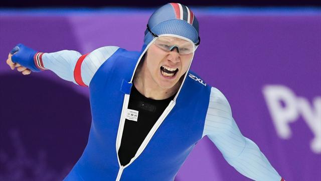 Lorentzen satte OL-rekord og tok gull på 500-meteren: – Har drømt om dette hele sesongen