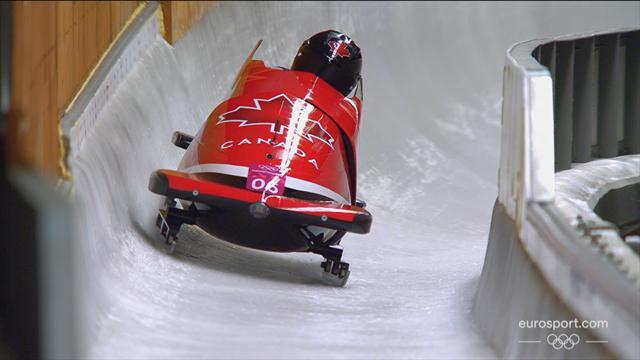 Medaglia d'oro ex-aequo nel bob a due: trionfano Canada e Germania insieme!