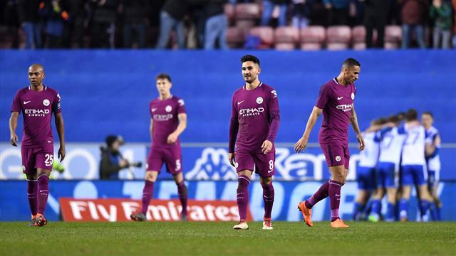 FA Cup, Wigan-Manchester City: Un milagro derriba a Guardiola (1-0)