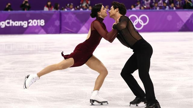 Virtue e Moir danno spettacolo: medaglia d'oro ai danzatori più grandi di sempre