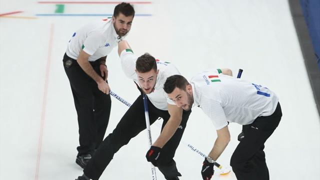 Curling, l'Italia chiude in bellezza: sconfitta la Norvegia per 6-4
