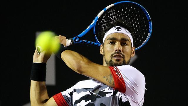 Tennis, Fognini annulla un match-point e vola ai quarti a Rio