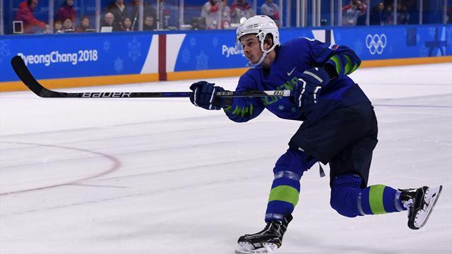 Un joueur de hockey sur glace slovène contrôlé positif