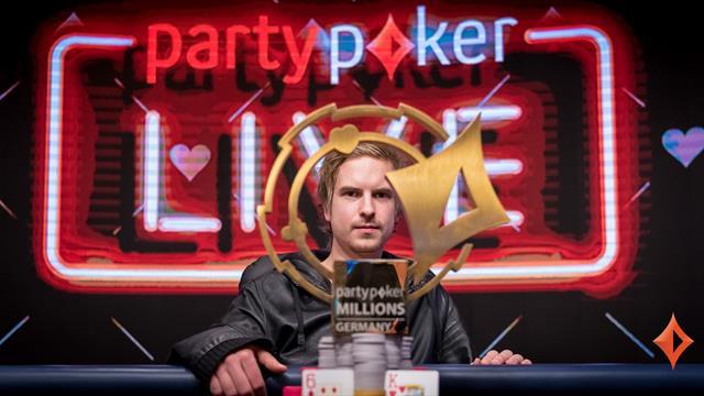 Viktor Blom remporte le Partypoker Millions Germany