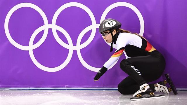 Wieder gestürzt: Unglückliche Spiele für Anna Seidel