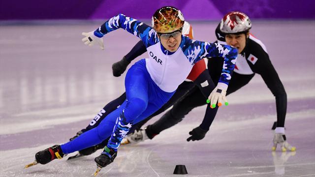 Елистратов не попал в четвертьфинал на 500 м