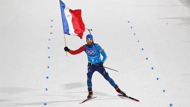 Fourcade lidera el relevo mixto francés y logra su quinto oro olímpico