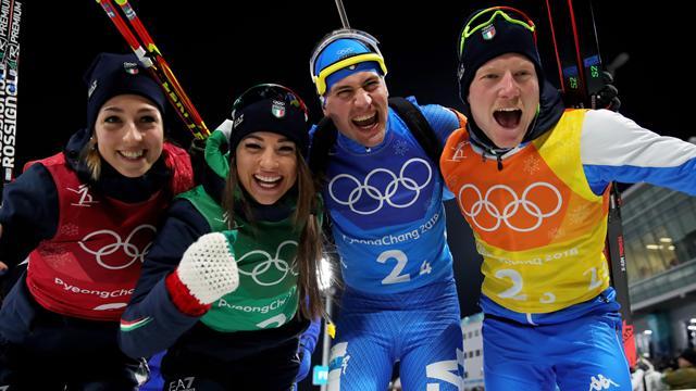 Ancora Italia! Staffetta mista di bronzo nel biathlon: respinto il ricorso della Germania