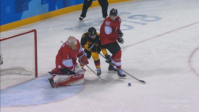 Hockey su ghiaccio: Svizzera-Germania 1-2 dopo un overtime, gli highlights