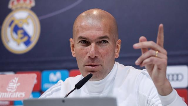 """Zidane: """"Quiero quedarme en el Madrid mucho tiempo"""""""