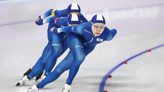 Корейские конькобежки обвинили в провале партнершу и нарвались на петицию об исключении из сборной