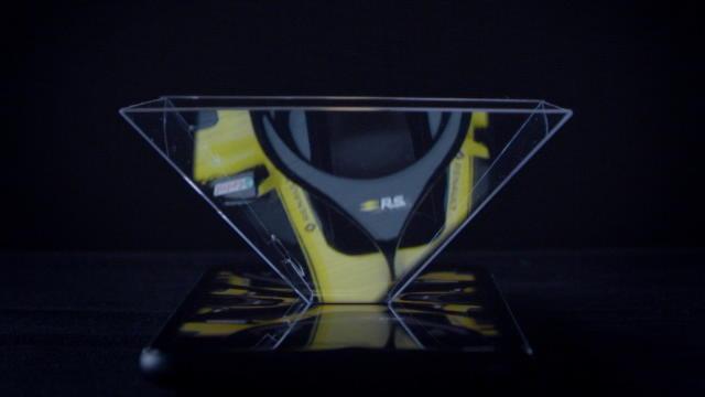 Renault a levé sur sa nouvelle monoplace, la R.S. 18