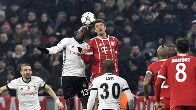 Beşiktaş'ın Avrupa kadrosuna Atiba alınmadı