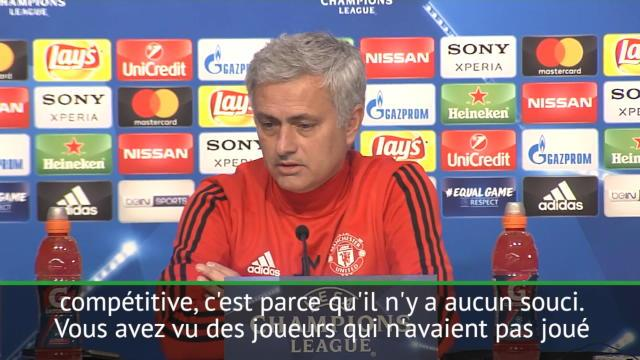 8es - Mourinho confirme la présence de Pogba
