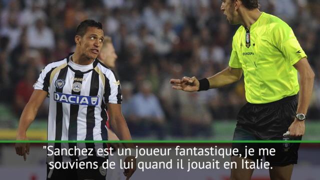"""8es - Montella : """"Sanchez est un joueur fantastique"""""""