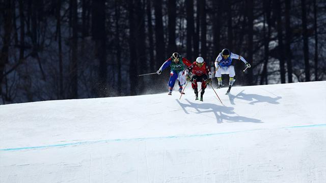 """Efter skicrossmisslyckandet: """"Jag är jävligt besviken"""""""