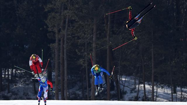 Chutes hallucinantes, fractures... Le skicross a fait de gros dégâts