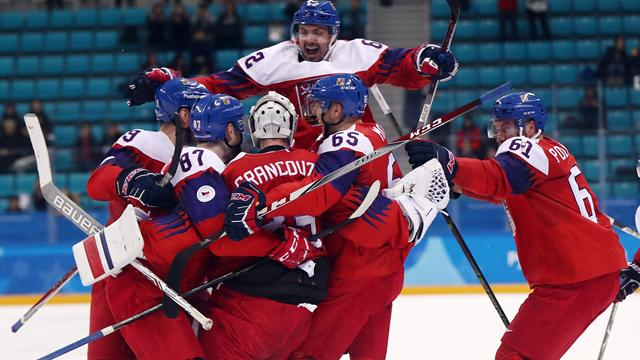 Team USA falls in shootout to Czechs in men's hockey