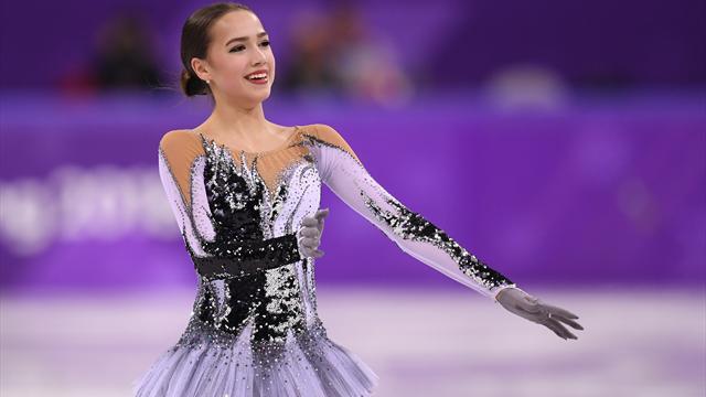 Zagitova devant Medvedeva, Osmond 3e au programme court — Patinage artistique
