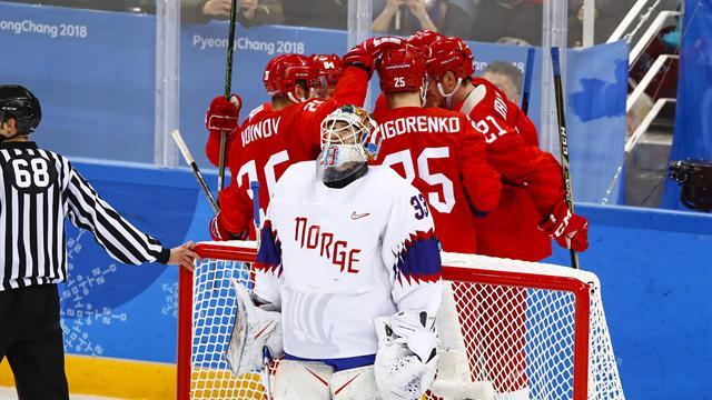 Fikk hockeybank av russerne i historisk kvartfinale: – David møtte Goliat