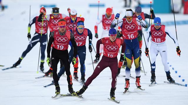 Норвегия выиграла золото в командном спринте, Спицов и Большунов – вторые