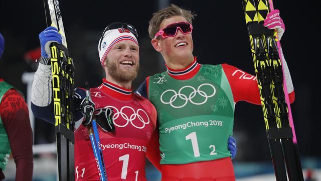 Erkekler kayaklı koşu takım sprintte Norveç fırtınası