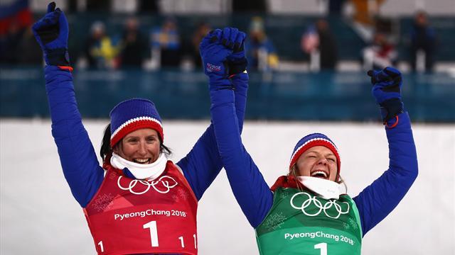 Бьорген стала самой титулованной спортсменкой в истории Олимпиады