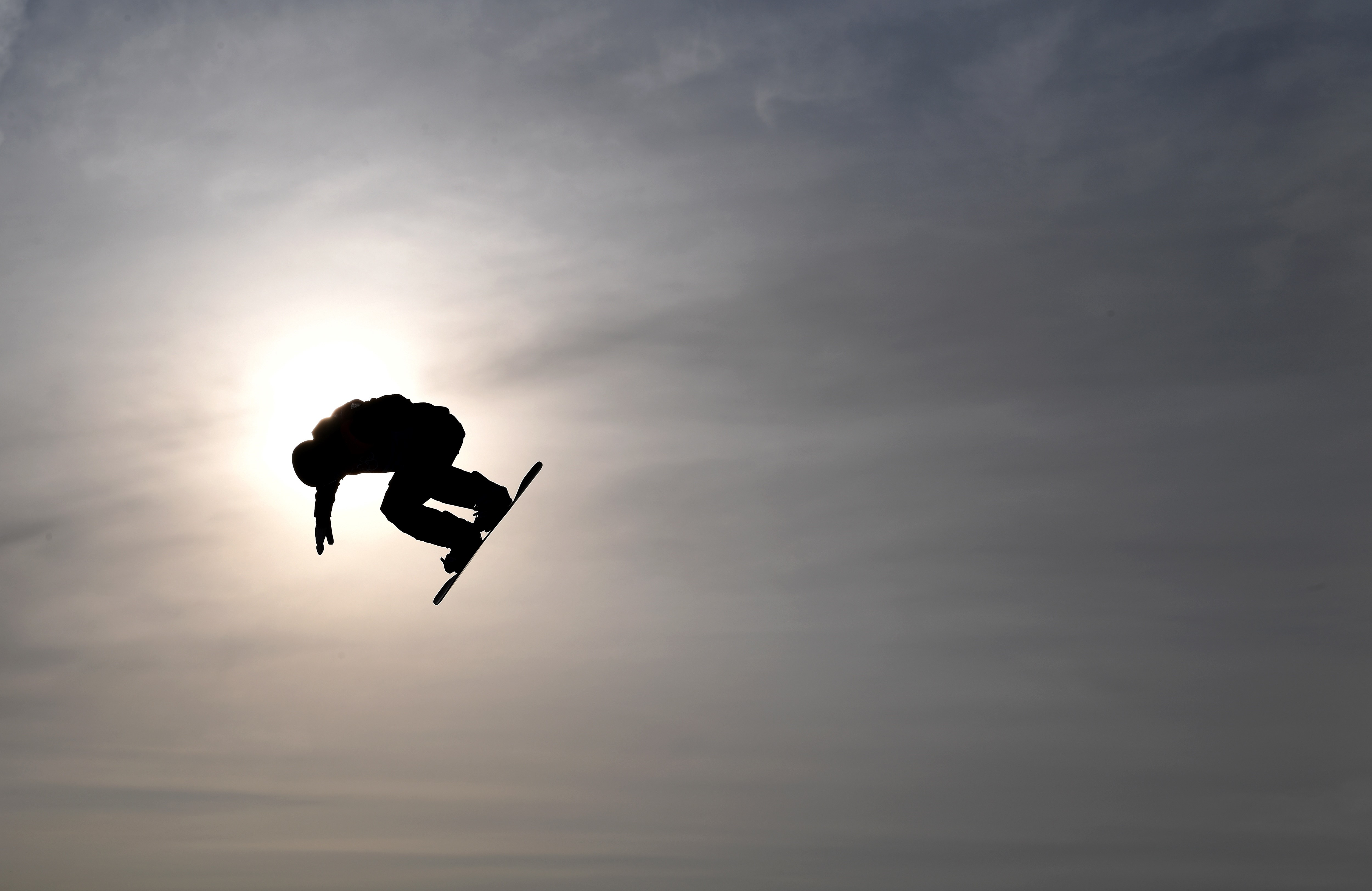L'épreuve de BigAir aux JO de Pyeongchang
