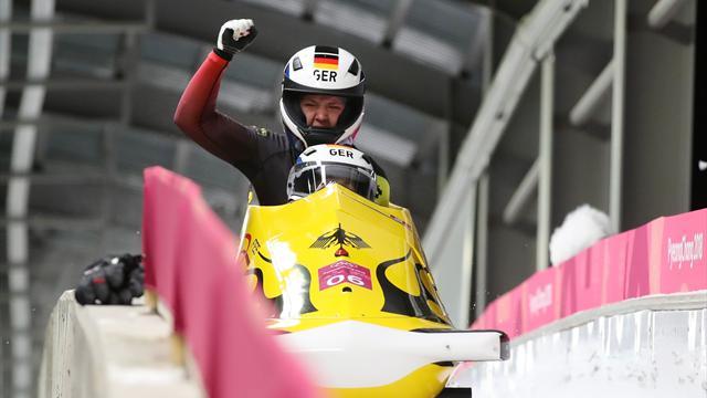Германия завоевала золото в женских двойках