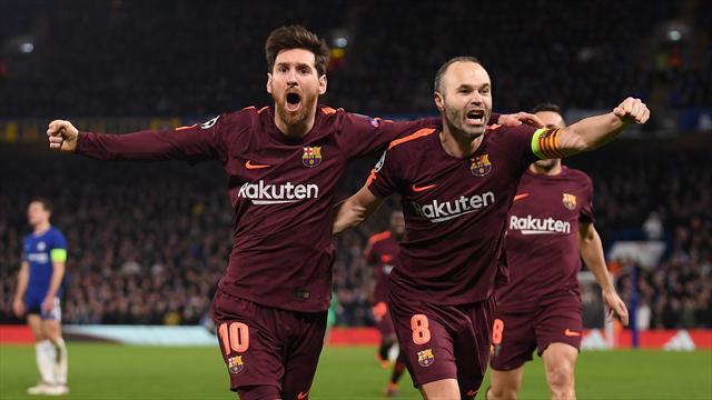 "Conte : ""Iniesta est un génie du football"""