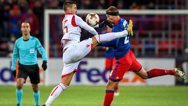 UEFA Avrupa Ligi'nde ilk tur atlayan CSKA Moskova