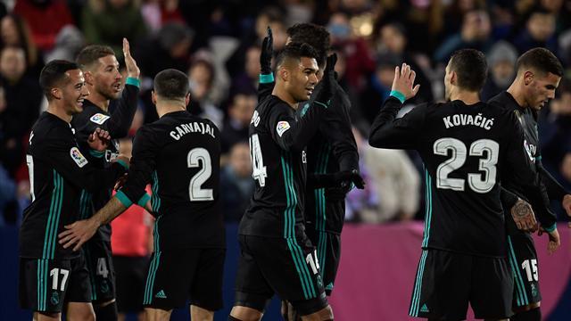 Le Real Madrid retrouve le podium