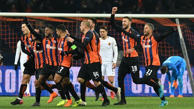 Shakhtar Donetsk beat Roma 2-1
