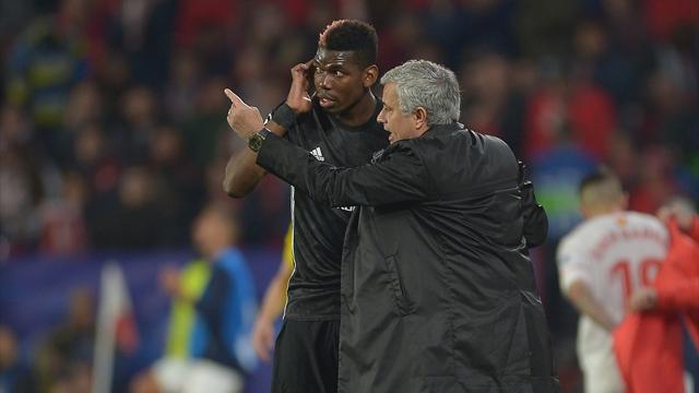 Mourinho s'agace des questions sur Pogba et encense le jeune McTominay