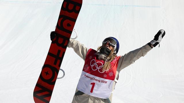 Anna Gasser, première championne olympique de Big Air