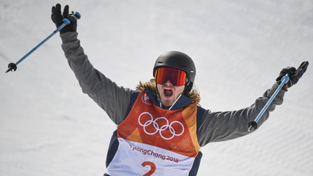 Crash, crash, gold! Wise defends halfpipe title with 97.20 final run