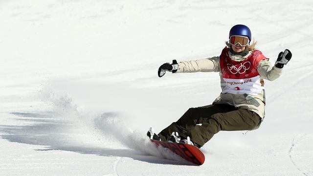Гассер завоевала золото ОИ-2018 в биг-эйре