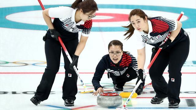 """De l'ail et du curling : quand la """"Team Kim"""" passionne la Corée du Sud"""