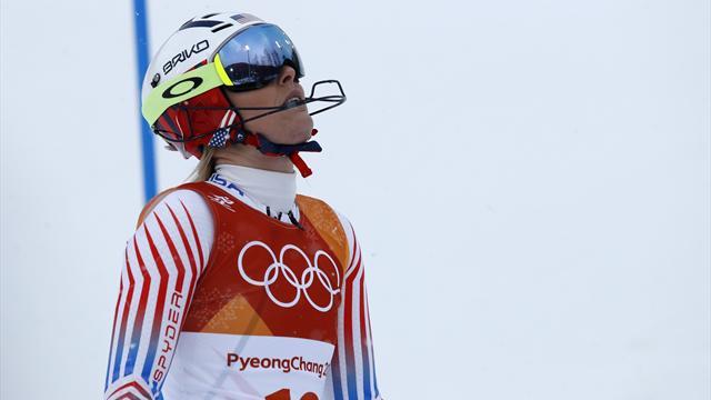 Vonns sista (?) OS-framträdande slutade med uråkning